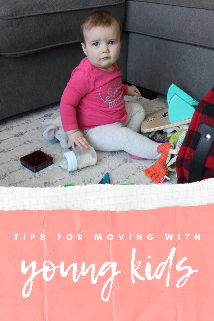 Tips for Moving with Young Kids
