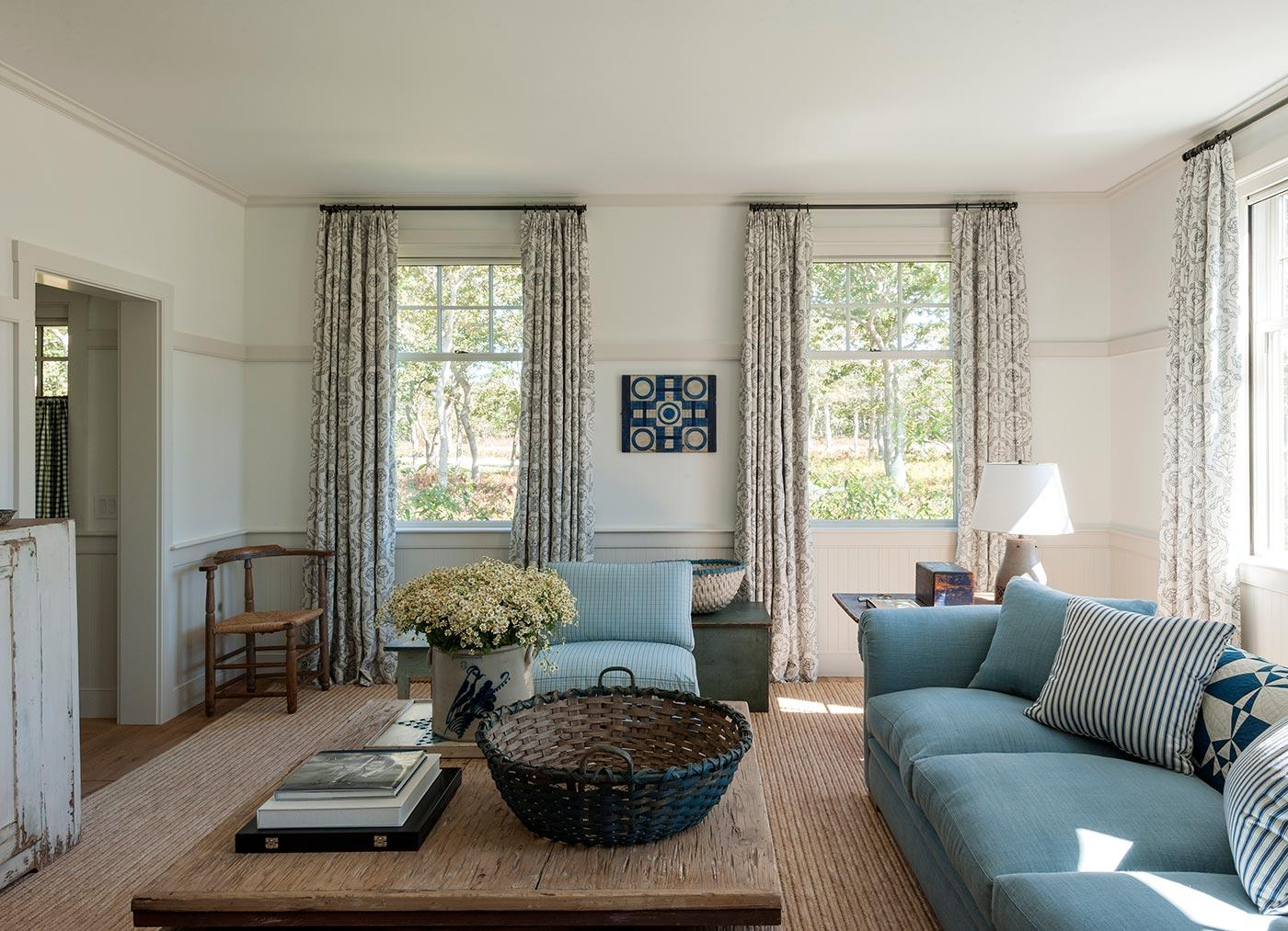 Décor Inspiration: A Stunning Summer Getaway on Martha's Vineyard Decorated by Mark Cunningham