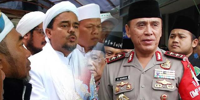 MUI: Polisi Harus Hargai Habib Rizieq Sebagai Tokoh dan Ulama, Polisi Kalau Rayu Koruptor Ke Luar Negeri Mau