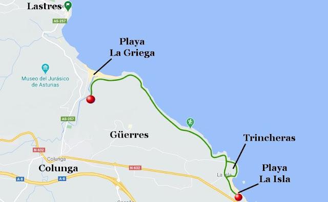 Senda La Griega-La Isla