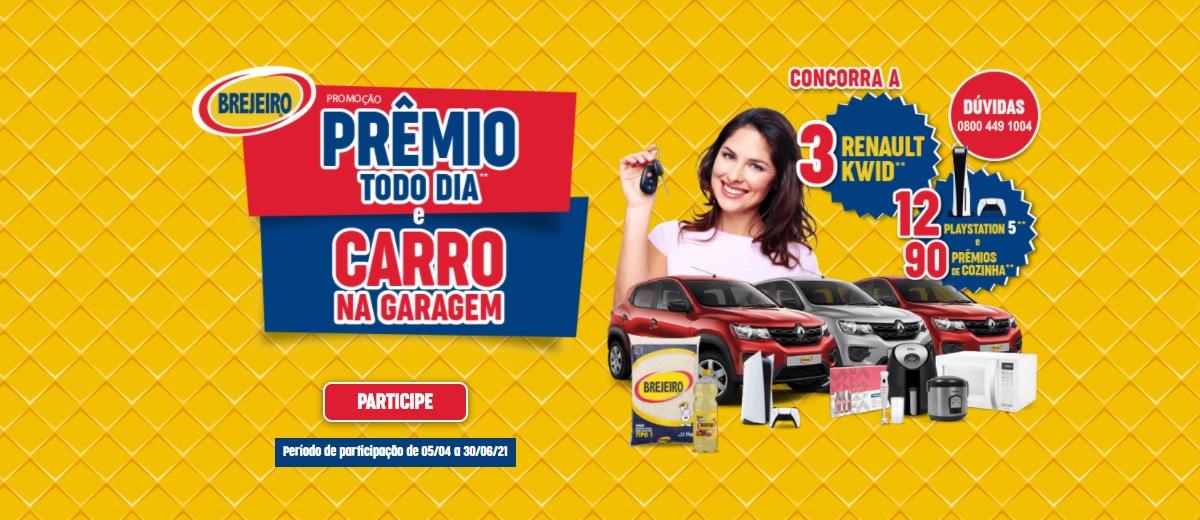 Promoção Arroz Brejeiro Carro e Prêmio Todo Dia
