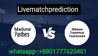 100% match prediction  TNPL 2021 ITT vs MPS
