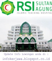 Lowongan Kerja RSI Sultan Agung Semarang