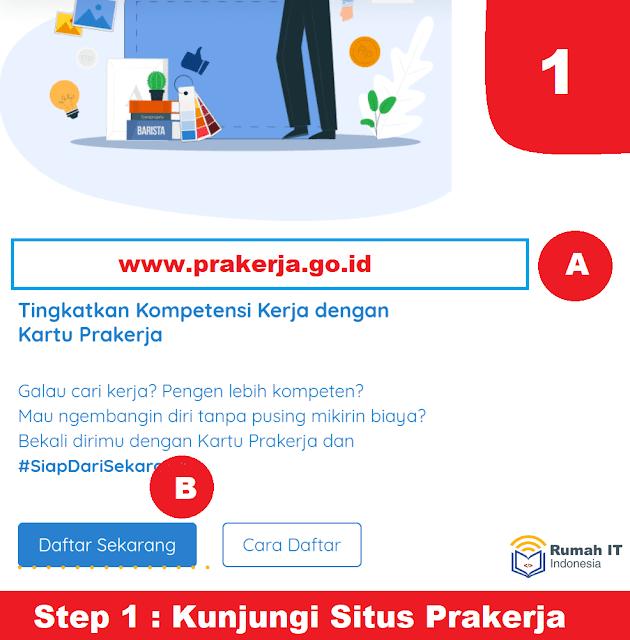 Petunjuk Cara Mendapatkan Kartu Prakerja Lengkap