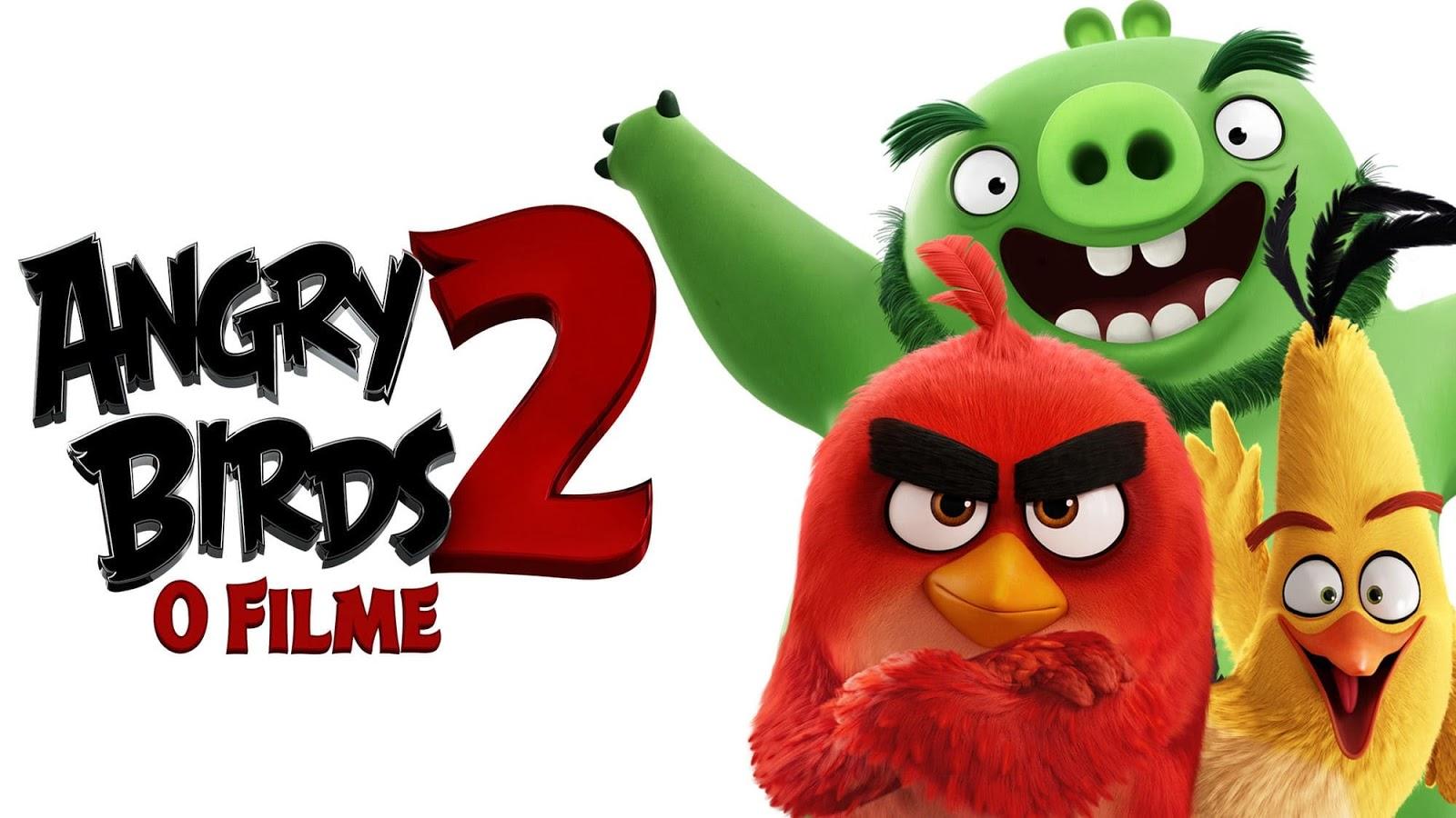 Angry Birds 2: O Filme disponpivel em DVD