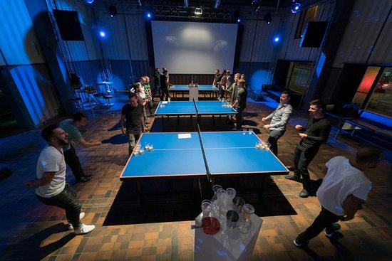 ping pong lounge