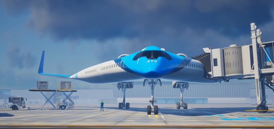 A New Flying V-Plane Could Change Air Travel Forever