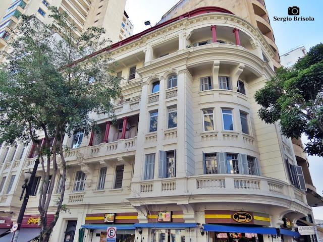 Vista ampla do Edifício Tupã - República - São Paulo