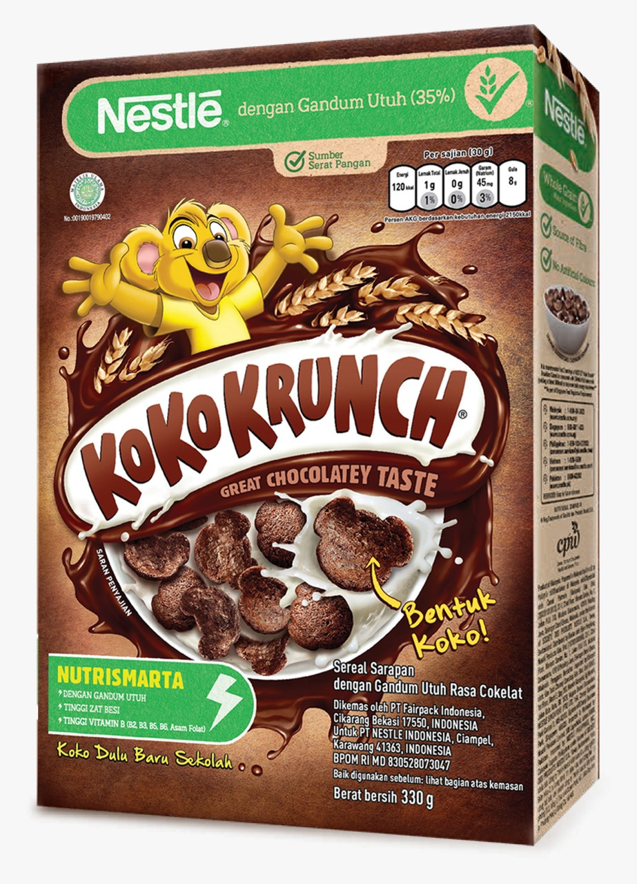 Pilih KOKO KRUNCH Nutrismart sarapan sehat
