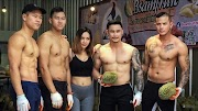 Real Bodybuilders Seller Selling Durian Because No Job During  Covid-19 Pandemic