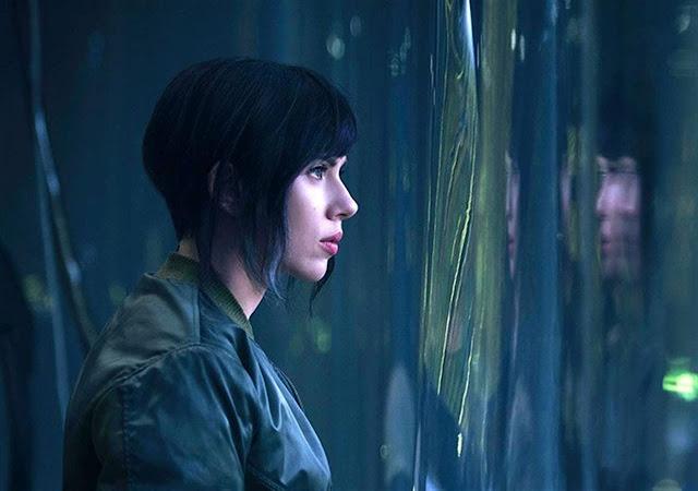 Scarlet Johansson como Motoko Kusanagi