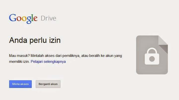 Tips Cara Izin Akses Google Drive paling mudah