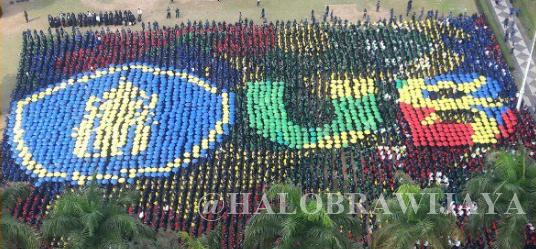 Umbrella Mob ospek Mahasiswa Baru UB 2017