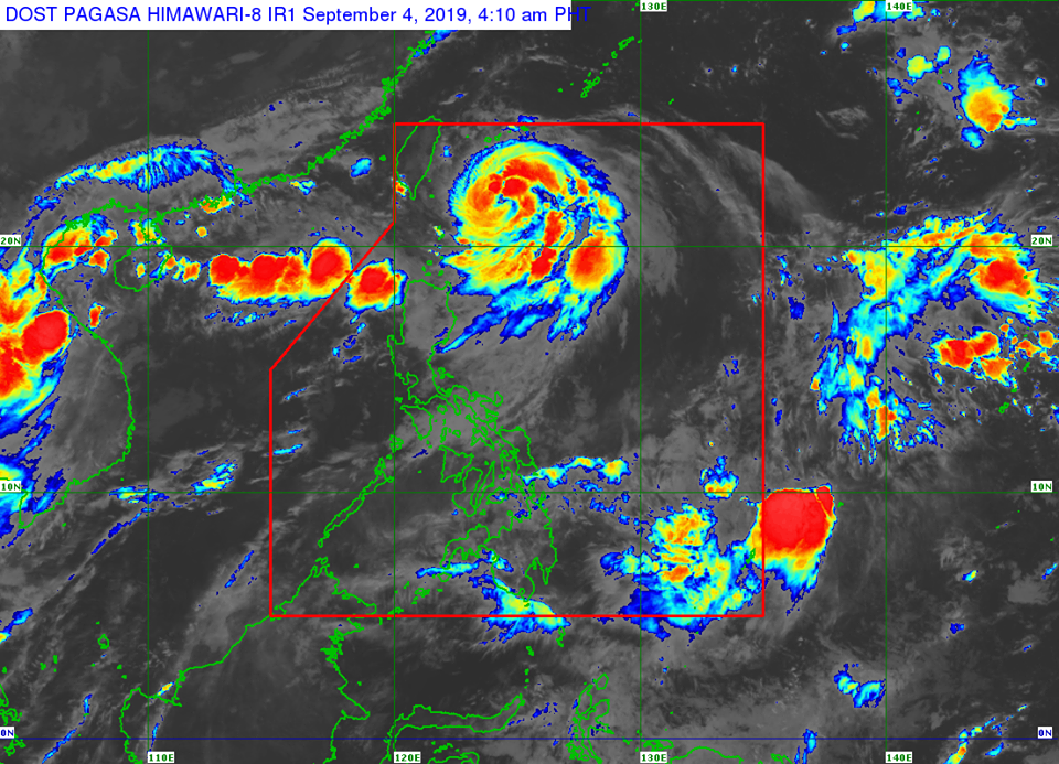 Typhoon 'Liwayway' is expected to exit Philippine Area of Responsibility (PAR) on Thursday, September 5.
