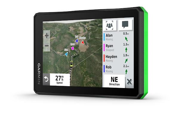 Garmin entra no sector do desporto automóvel com Tread™, o seu novo dispositivo para Quads e ATVs