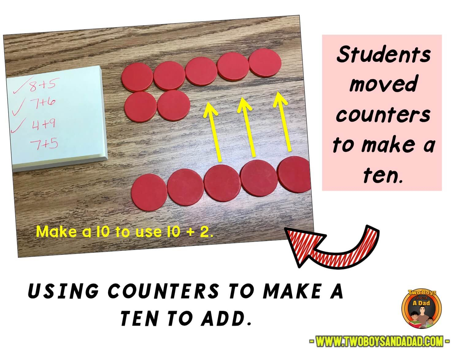 Making at ten with counters
