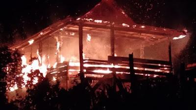 Kebakaran di Bone, Rumah Warga Rata Dengan Tanah