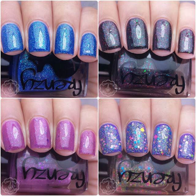 Frenzy Polish - Gamer Girl Collection (Partial) Swatches & Review
