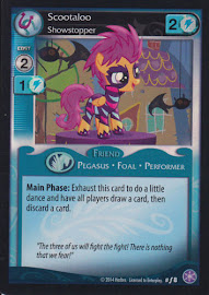 My Little Pony Scootaloo, Showstopper The Crystal Games CCG Card