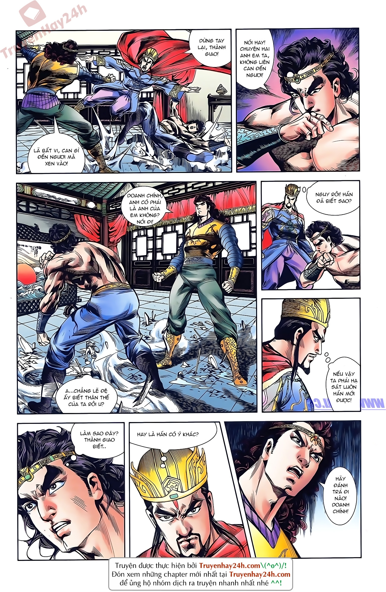 Tần Vương Doanh Chính chapter 43 trang 18