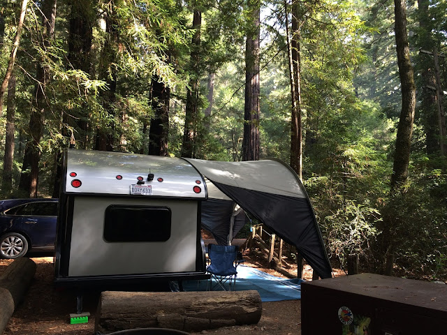 Alto Safari Condo tiny trailer camping California