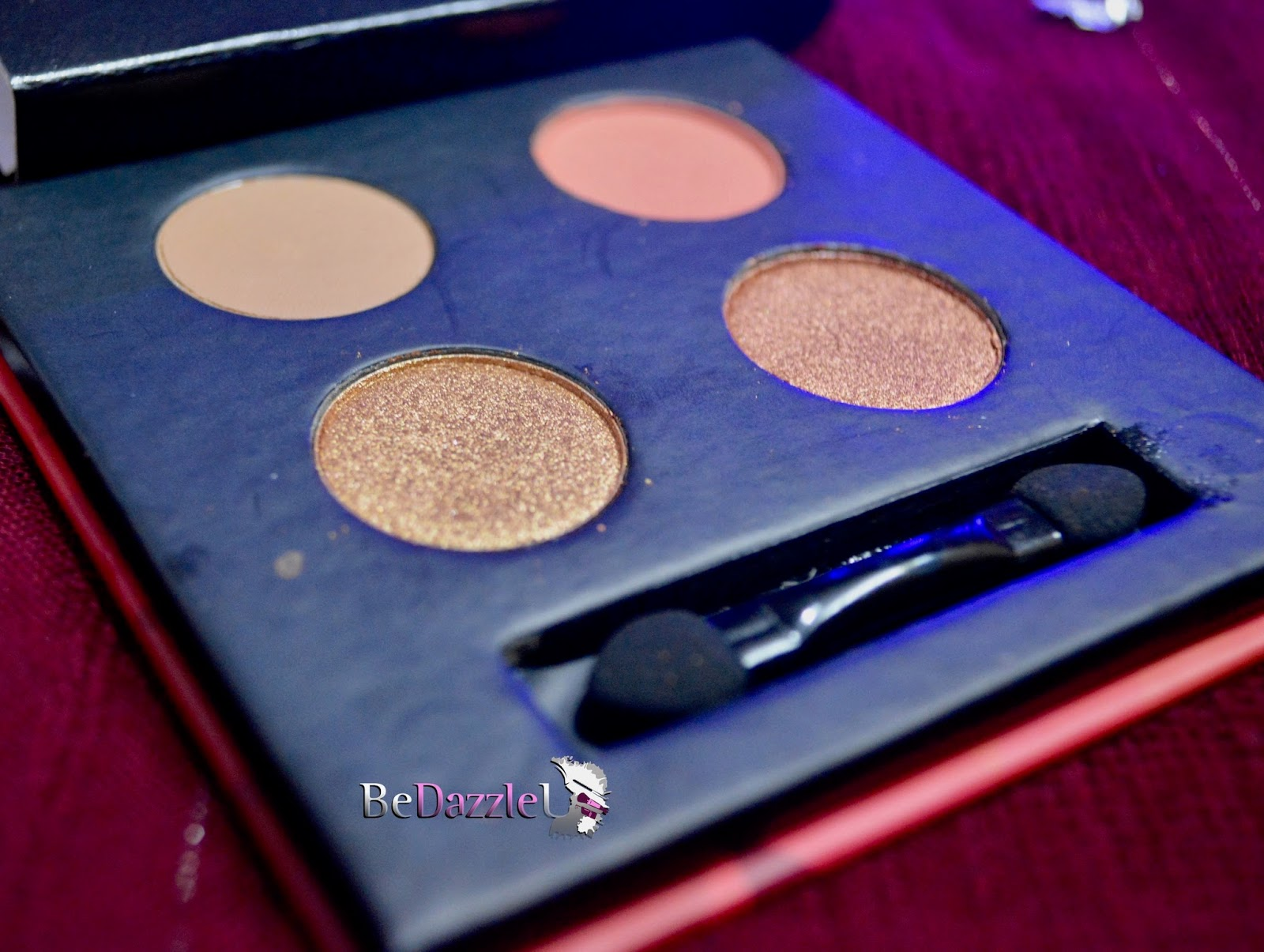 Blend the rules eyeshadow quad