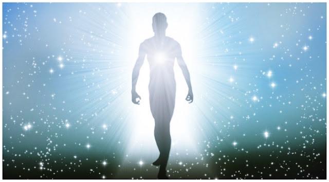 Imagem ilustrativa representando o Corpo de Luz, conceito encontrado em diversos grimórios de magia, inclusive no Goetia Luciferiana