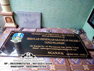 Spesialis Letter Prasasti Marmer Tulungagung