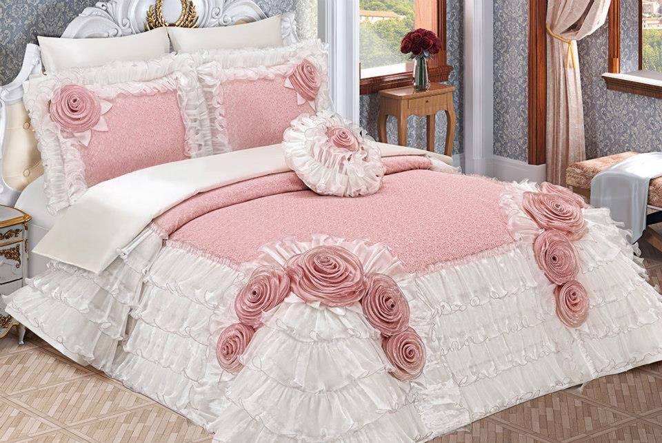 gülce yatak örtüsü