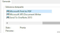 Salvare in PDF ogni documento o immagine  su Windows 10