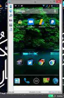 tampilan android di PC