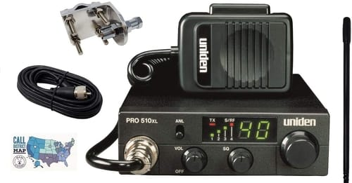 Uniden PRO510XL Radio and Accessory Bundle