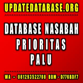 Jual Database Nasabah Prioritas Palu