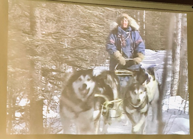 Mary Shields was the first woman to complete the Iditarod Race in 1974 (Source: Fairbanks Museum)