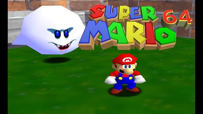 Super Mario 64 – Todas as Estrelas do Big Boo's Haunt