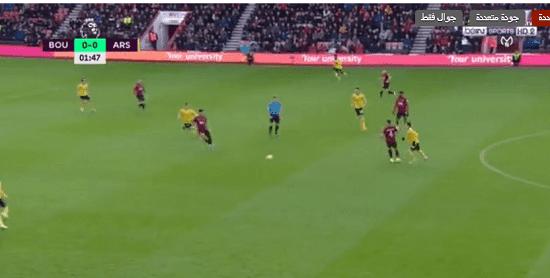 البث المباشر : آرسنال وبورنموث Bournemouth vs Arsenal kora online
