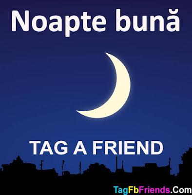 Good Night in Romanian language