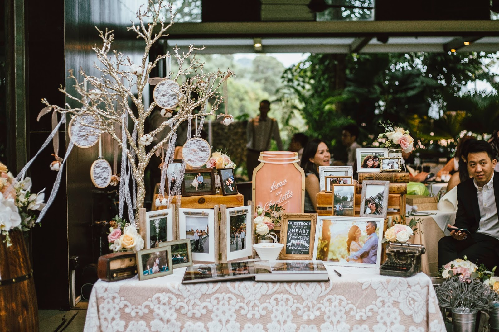 Hitched Wedding Planners Singapore Rustic Themed Wedding With