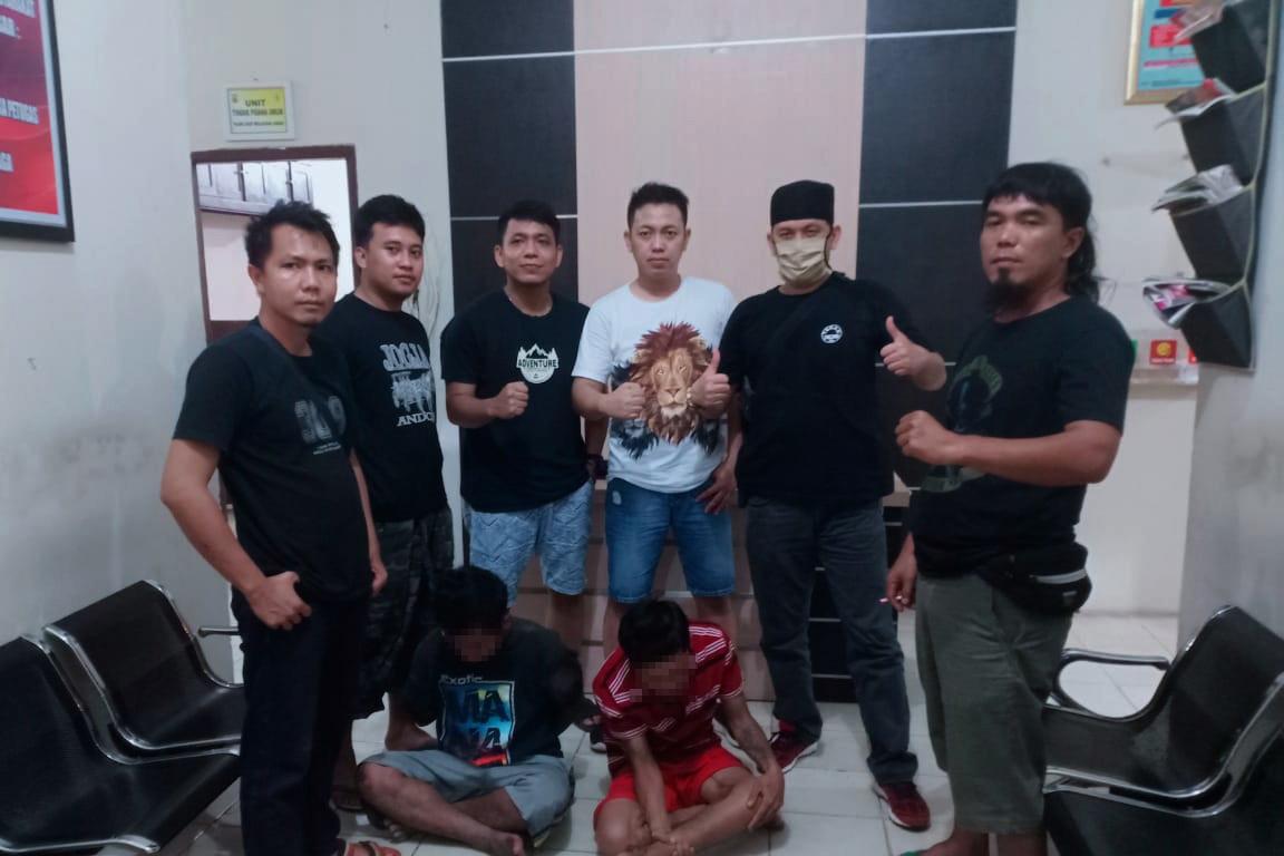Rampas Tas Milik Pegawai Honorer di Jalintim, Dua Pelaku Curas Ditangkap Tekab 308 Polres Tulang Bawang