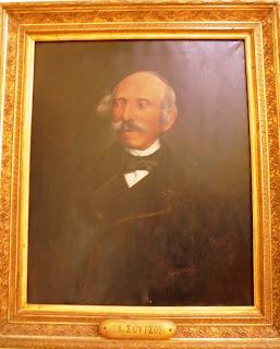 προσωπογραφία του Ιωάννη Σούτσου στο Μουσείο του Πανεπιστημίου Αθηνών