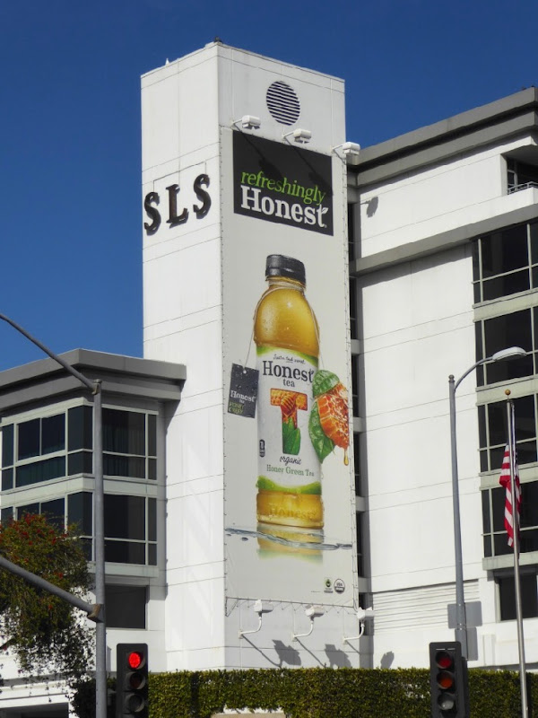 Honest Honey Green Tea 2016 billboard