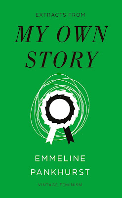 My Own Story by Emmeline Pankhurst book cover