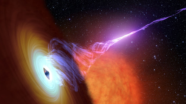 A Black Hole with an Accretion Disk