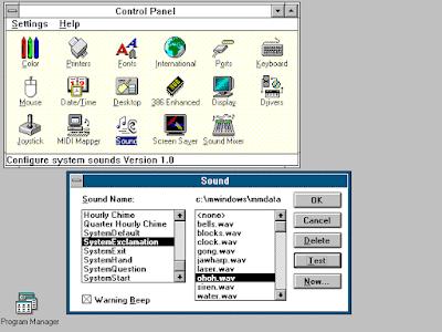 Windows 3.0 Display