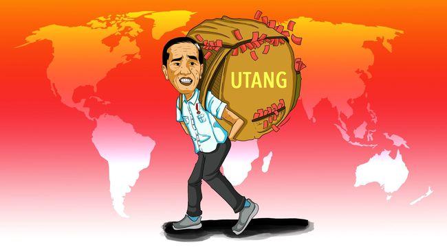 Jokowi Harus Bayar Bunga Utang 405 Triliun Tahun 2022 Mendatang, Demokrat: Bayarnya Pakai Utang Lagi?