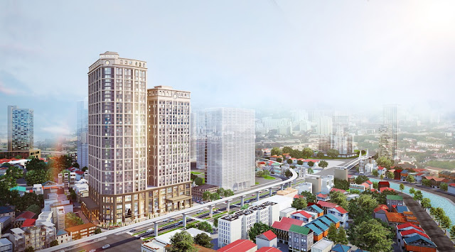 Phối cảnh dự án King Palace 108 Nguyễn Trãi