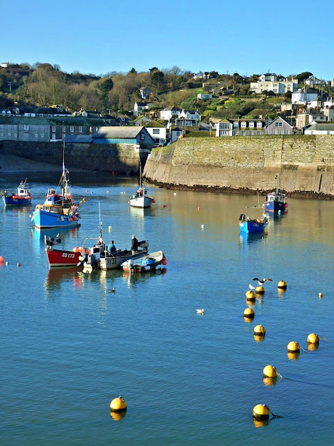 The outer harbour at Mevagissey, Cornwall