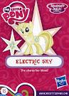 My Little Pony Wave 16B Electric Sky Blind Bag Card
