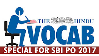 THE HINDU VOCABULARY | 25.03.2017 | IMPORTANT FOR SBI PO