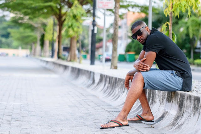 Money Sweet O! Peter Psquare Rocks Expensive Gucci Pams In Cute Photos
